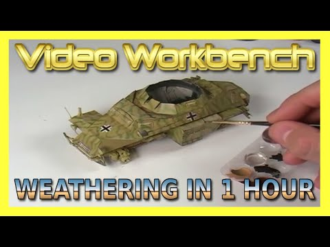 Weathering In 1 Hour | Video Workbench & AK Interactive