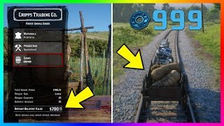 Become A Millionaire FAST & EASY - Red Dead Online Ultimate TRADER Role Money Making Guide! (RDR2)