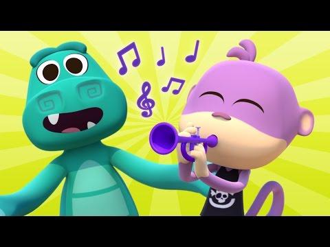 Cha cha cha del Cocodrilo - Las Canciones del Zoo 3 | El Reino Infantil