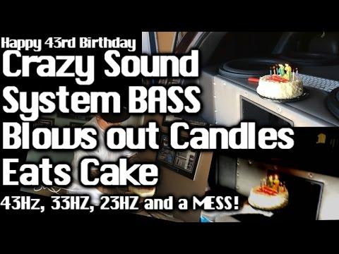 Birthday Cake Bass Player