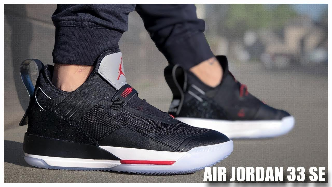 new styles d9e3a 0dfe3 Air Jordan 33 SE Black/Cement
