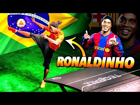RONALDINHO | EPIC MULTI BALL CHALLENGE! ⚽️🔥