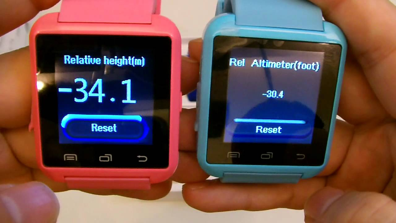Product Review: New Colors for U8 Smart Watch Blue Pink Green Orange