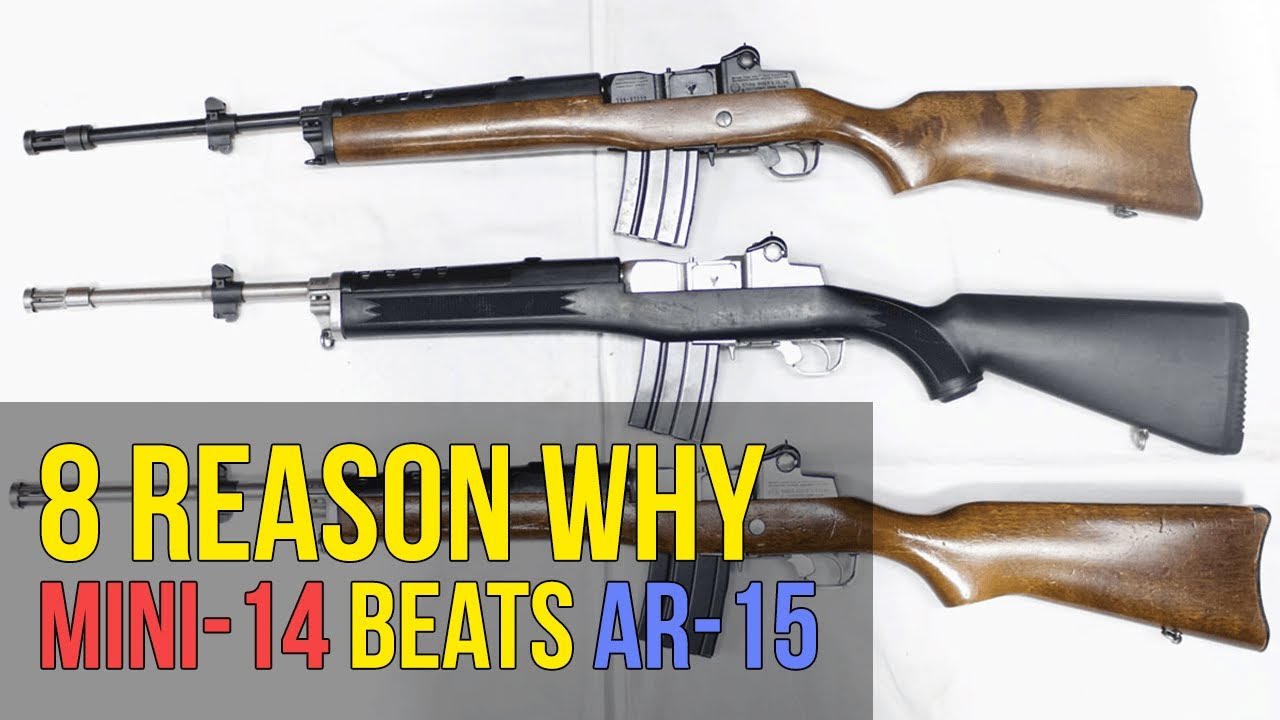 8 reasons why the ruger mini 14 is better than the ar15 4k uhd