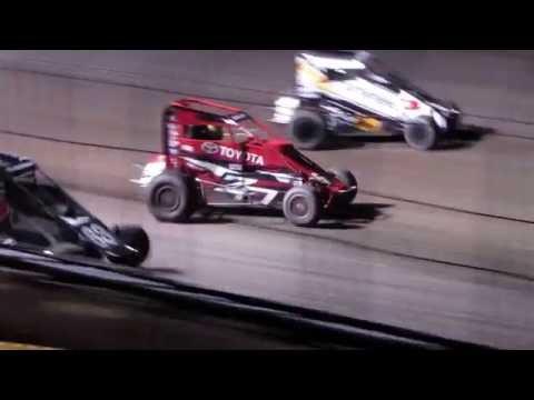 Gas City I-69 Speedway USAC Midgets 6/01/2016