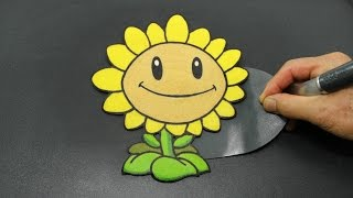 the most oddly satisfying sunflower pancake plant vs zombies