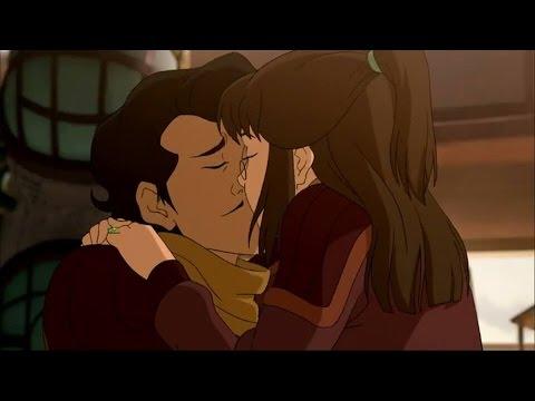 Legend of Korra Ending- Korra and Asami