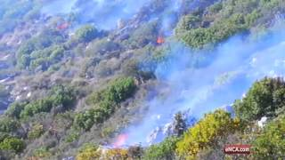 Muizenberg fire: updates from the air