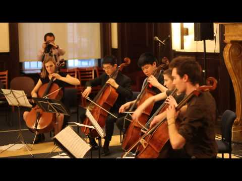 [Live] Let It Go from Disney's Frozen for 5 Cellos - String Theory