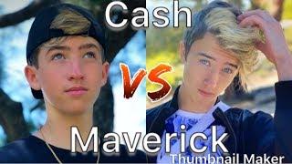 Cash vs Maverick Baker TikTok Compilation