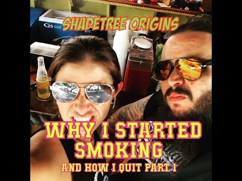 How I Quit Smoking Part 1: Why I Started