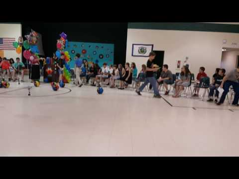 Ian's 5th grade graduation May 2017 part 2