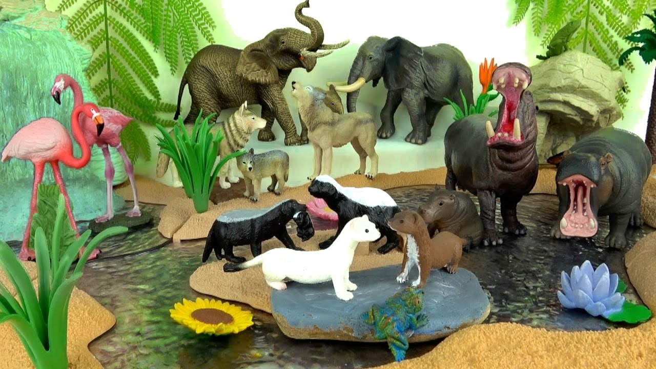 Learning Learn Wild Animals - Zoo Animals - Fun and Educational Kids ...
