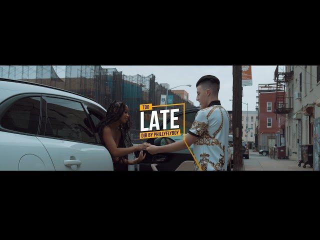 Tonee Marino - Too Late [Official Music Video] 8K