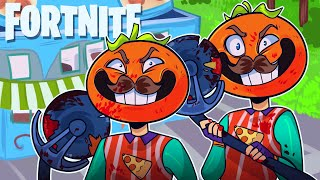 The TOMATO BOYZ Take Back TOMATO TOWN in Fortnite: Battle Royale (Fortnite Funny Moments and Fails)