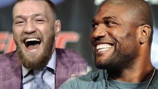 Rampage Jackson vs Conor McGregor - Trash talking. Funny moments.