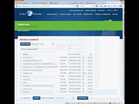 EuroShare   přesun složky do složky