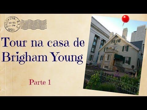 Tour na casa de Brigham Young - parte 1