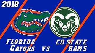 18.3 Florida Gators vs Colorado State Condensed