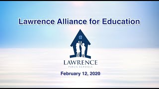 Lawrence Alliance for Education - Feb 2020