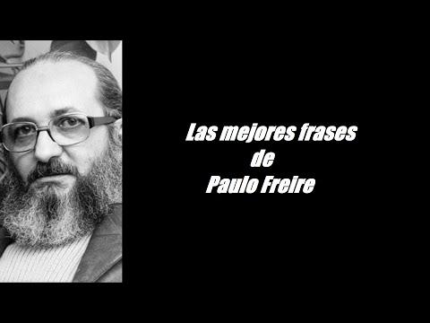 Frases célebres de Paulo Freire