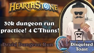Disguised Toast Dungeon Run - 30k dungeon run practice! 4 C