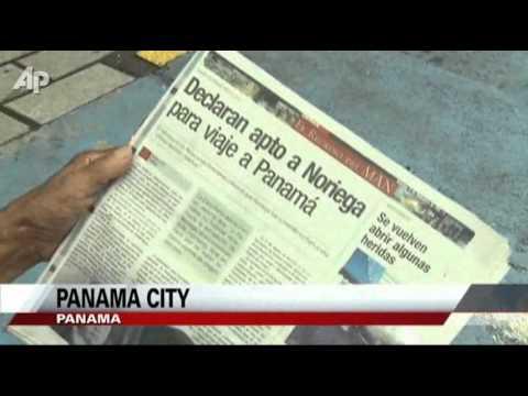 Panama's Noriega Returns Home to Serve Time
