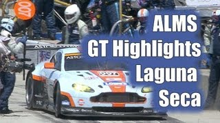 video thumbnail of ALMS Undercover - Episode 5 - Laguna Seca - GT Class Highlights