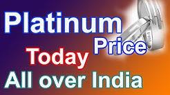Gold And Platinum Prices