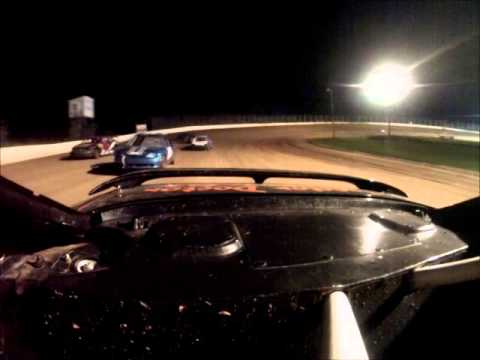 Eagle Valley Speedway Hornet Feature 8/16/15 Rear *91 Crash*