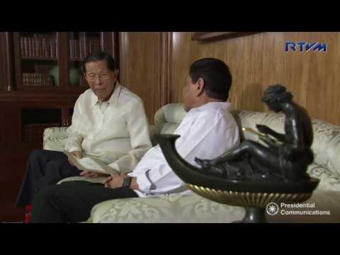 Meeting with Former Senator Juan Ponce Enrile 3/1/2017