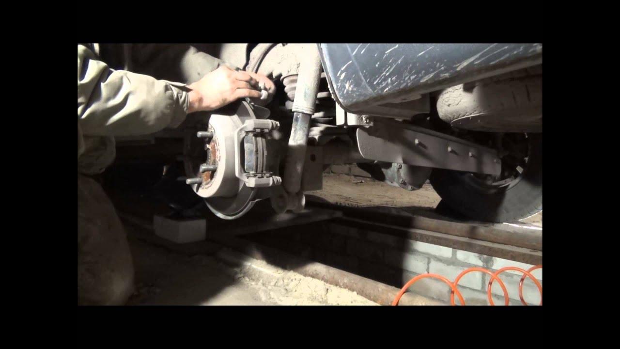 Москвич  412  замена (апгрейд) тормозных суппортов минимум переделок