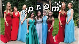 what British Prom is actually like!! + transformation
