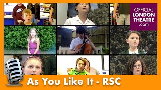 As You Like It performance | Royal Shakespeare Company - Playmaking Festival 2020