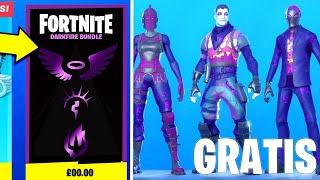 How TO GET THE NEW PACK OF DARK LAWS NOW IN FORTNITE! (FREE SKINS PACK)