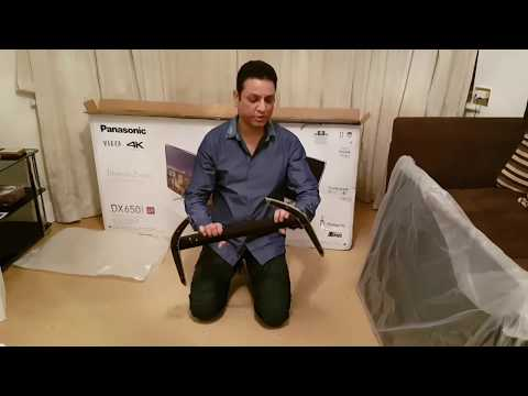 PANASONIC VIERA TX-49DX650B SMART 4K UHD LED TV UNBOXING