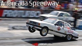Catarinense de Arrancada 2016 no Speedway BC - Burnouts e Puxadas!