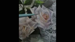 Duas rosas por Maneco Araújo