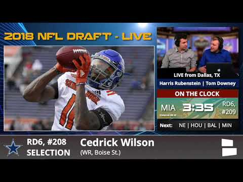Dallas Cowboys Select WR Cedrick Wilson With Pick #208 In 6th Round Of 2018 NFL Draft