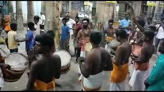 Lalgudi Saptharisheeswarar Temple Natarajar Thiruveedhi Ula | Kailaya Vaadhyam | Music of Lord Shiva