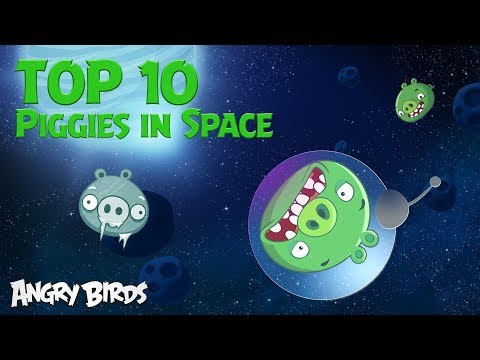 Angry Birds - Rocket Science Show | Top 10 Moments