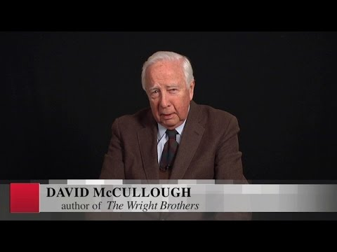 Pulitzer Prize-winning author David McCullough