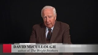 "David McCullough and ""the library shoes"""