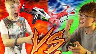 DROHNEN RAMBO CHALLANGE (eine Drohne geht KAPPUT!) - DailyVlog 60
