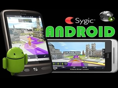 GPS Sygic Android GRÁTIS