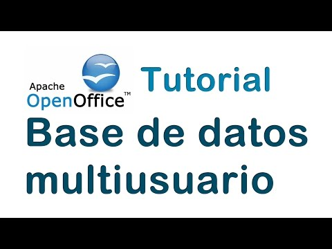 Tutorial Base De Datos Multiusuario OpenOffice