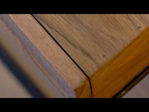 Sideboard Max Akazienholz 2 Schubladen