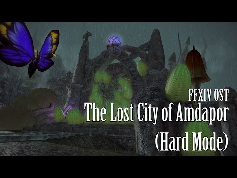 FFXIV OST The Lost City of Amdapor Hard Mode Theme
