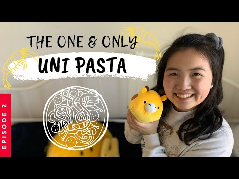 MAKE SEA URCHIN CREAM PASTA WITH ME