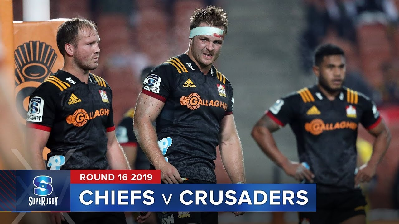 Chiefs v Crusaders | Super Rugby 2019 Rd 16 Highlights